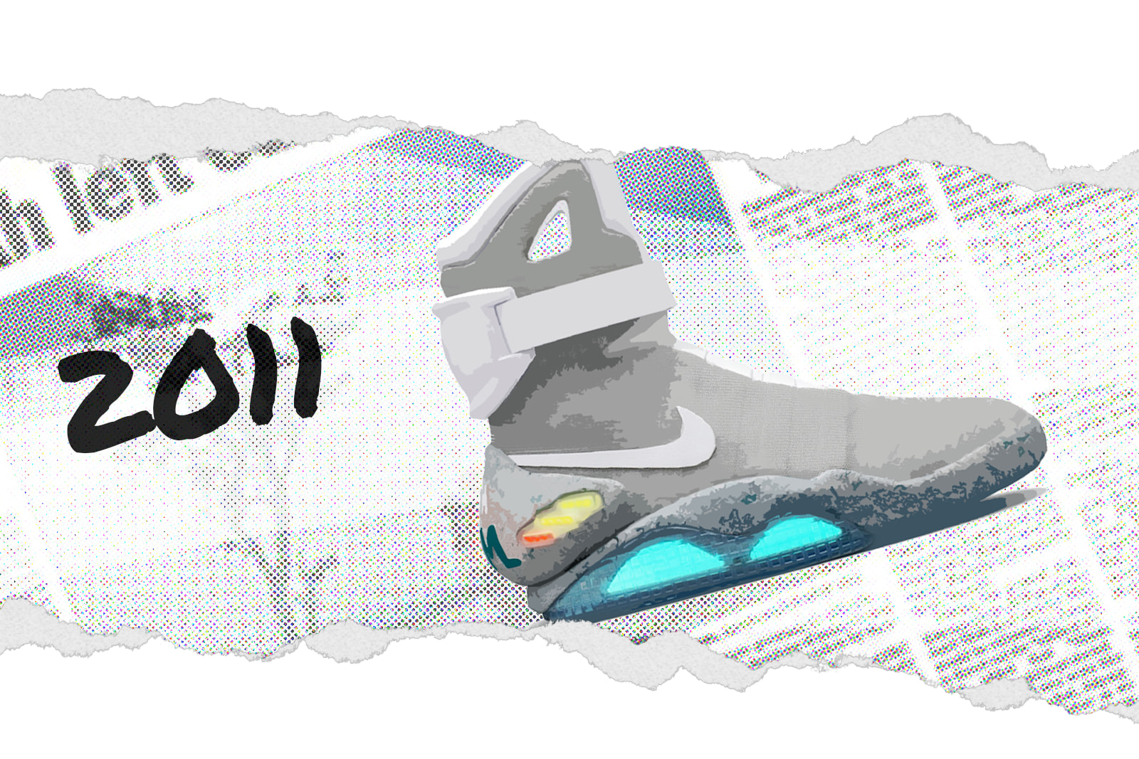 "Nike MAG ""Back to the Future"" 417744-001"