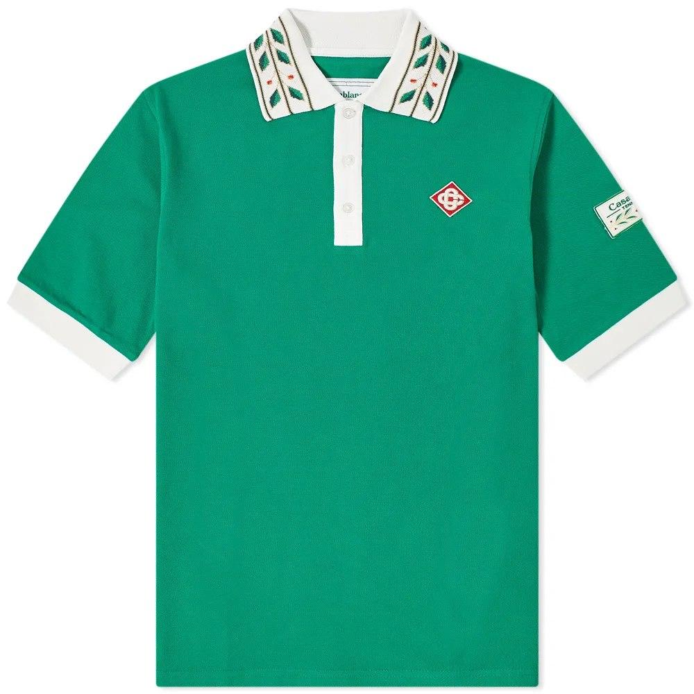Casablanca Laurel Classic Polo Shirt