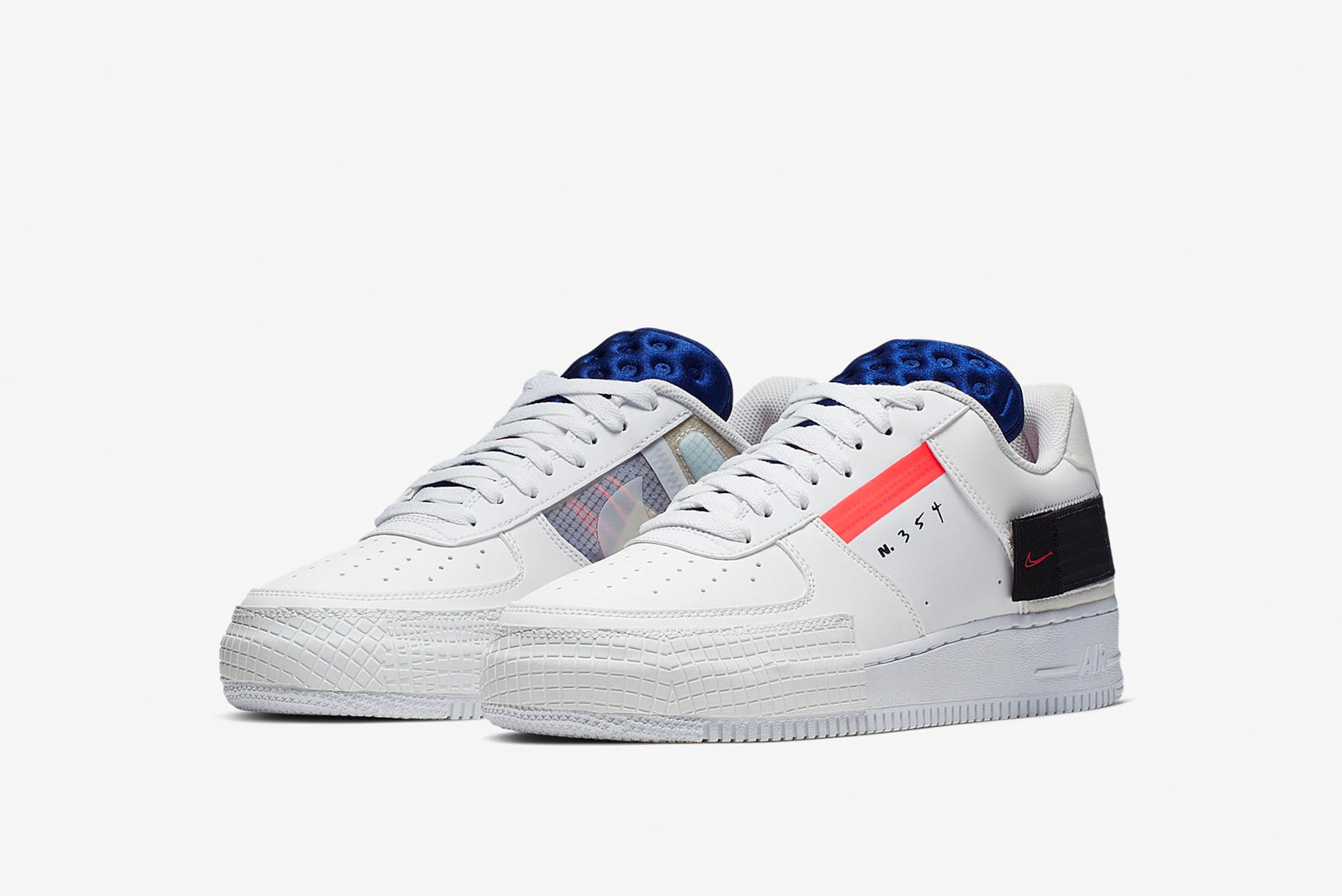 END. Features Nike Air Force 1 'Type' Registrer dig nu på  Nike Air Force 1 'Type' Register Now on