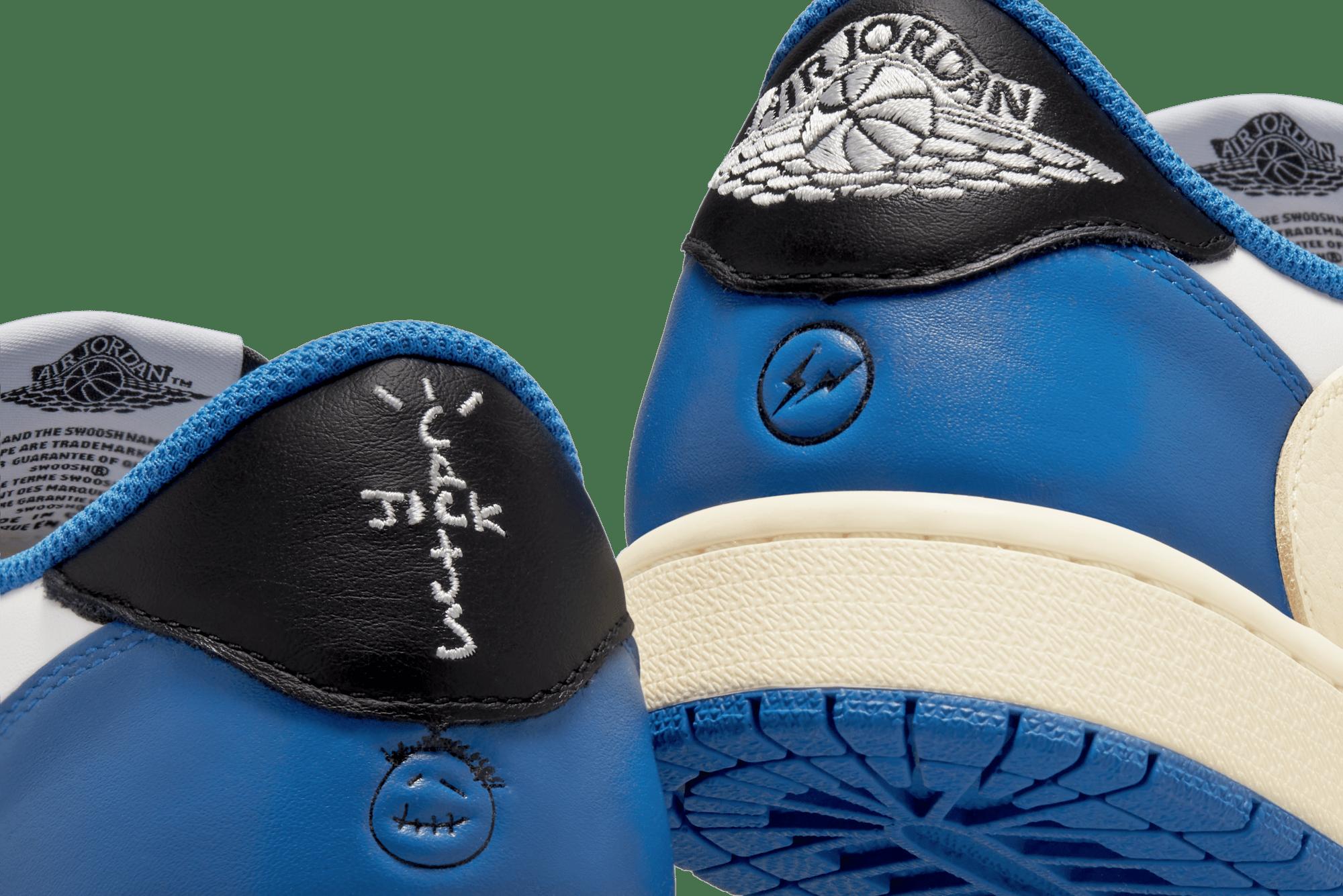 Nike x Fragment Design x Travis Scott Air Jordan 1 Low OG - DM7866-140