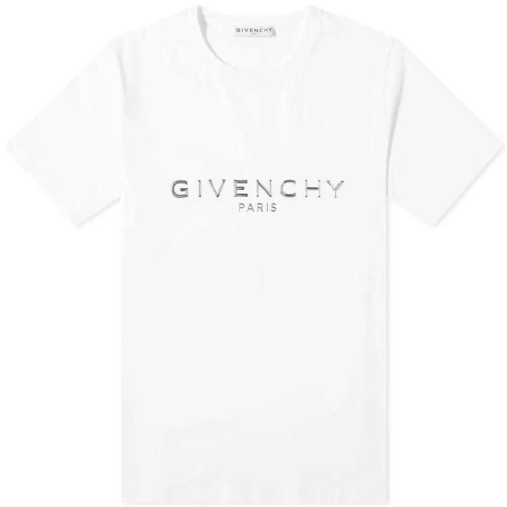 Givenchy Metallic Logo Tee