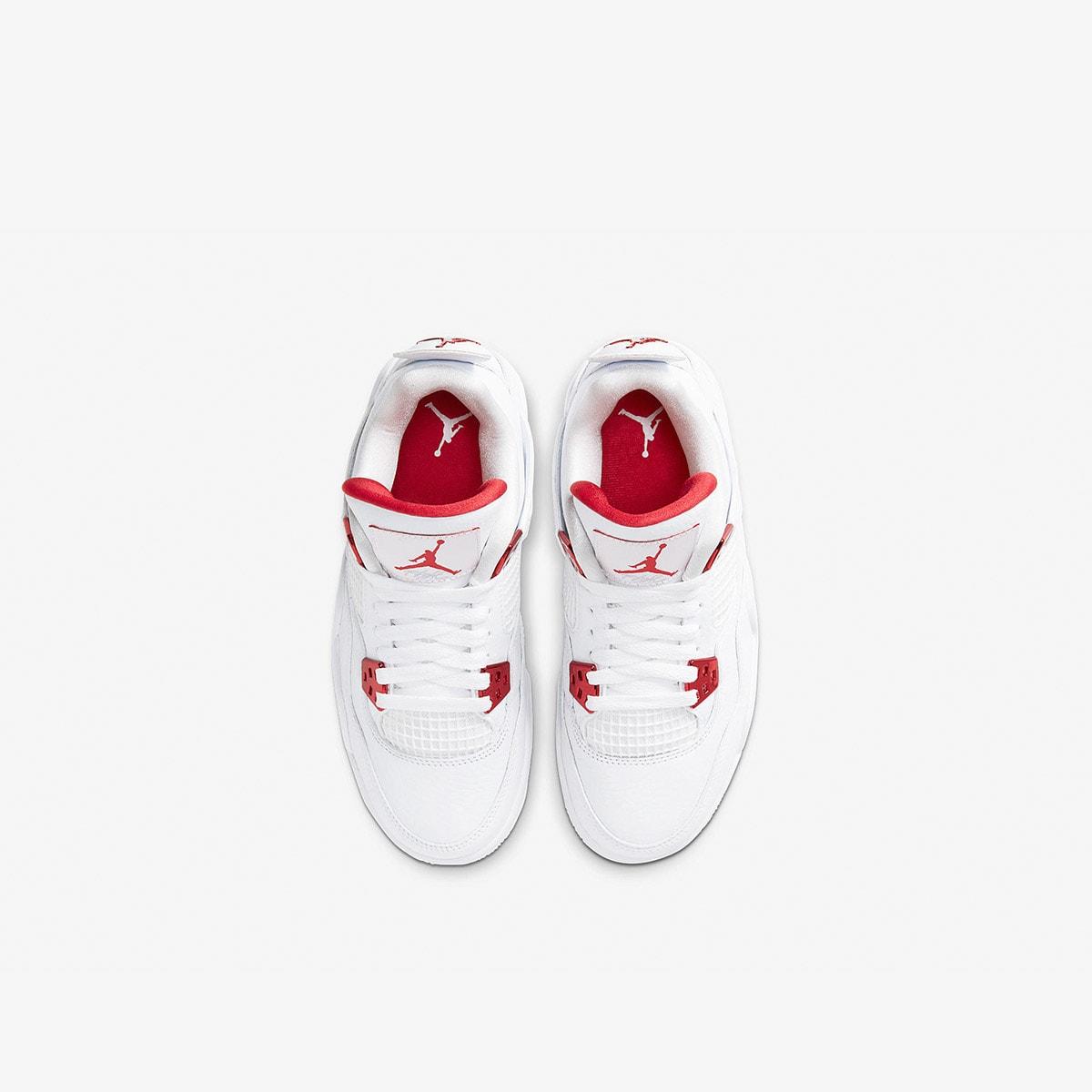 """Air Jordan 4 Retro GS """"Metallic Red""""  - 408452 -112"""