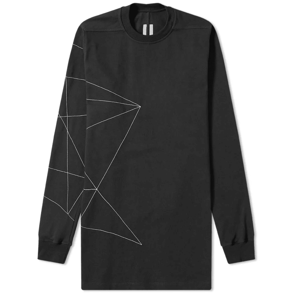 Rick Owens Embroidered Crew Sweat