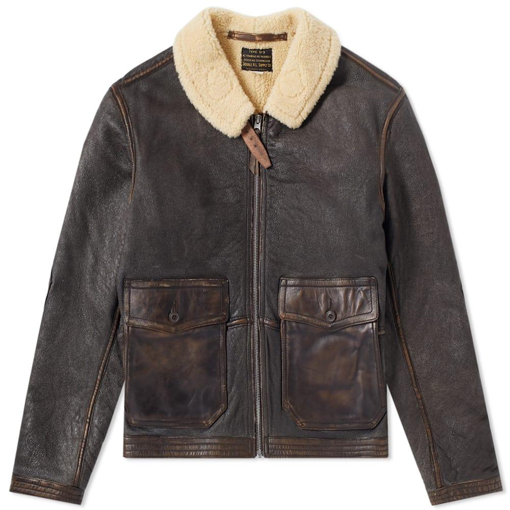 RRL Turner Shearling Jacket