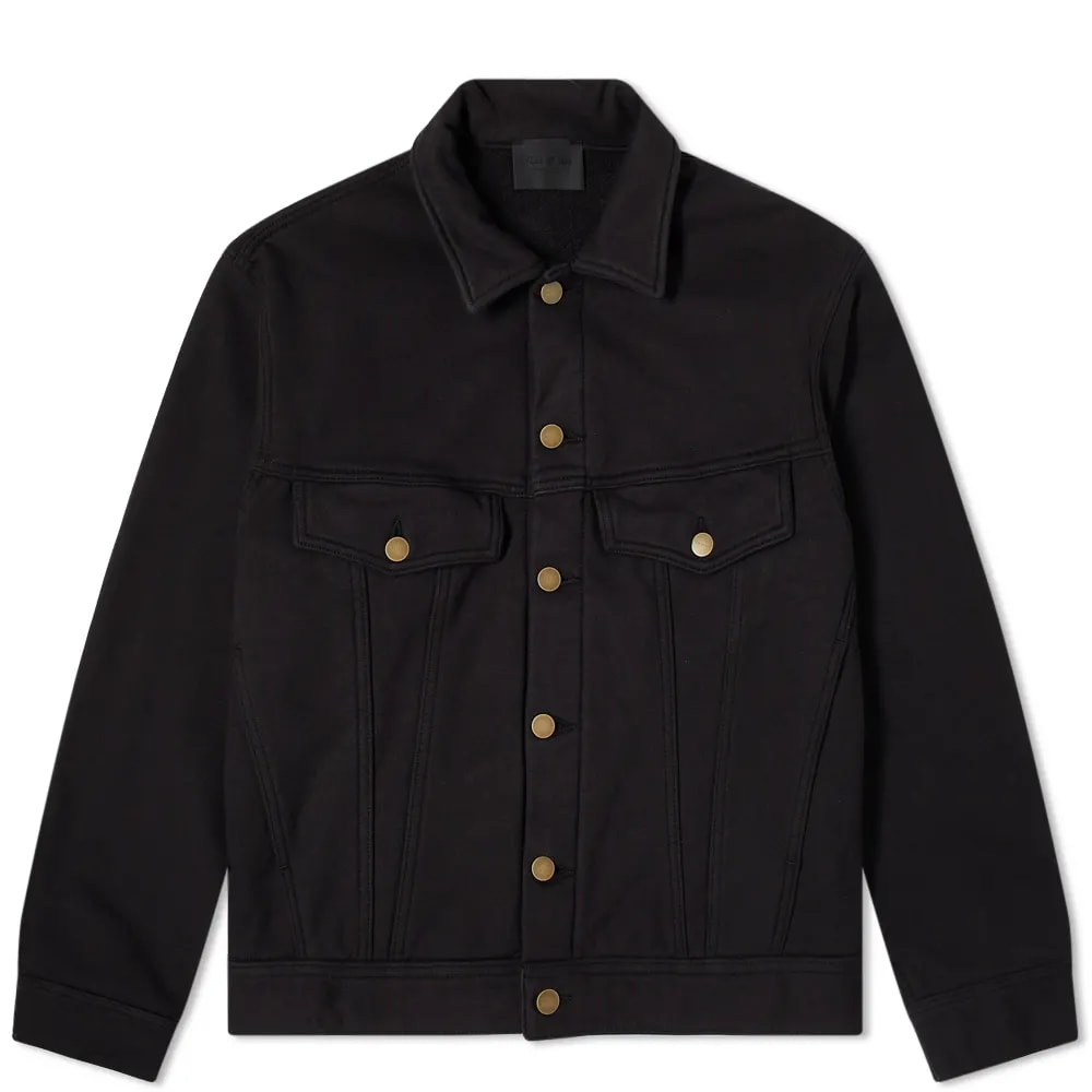 Fear of God Fleece Trucker Jacket