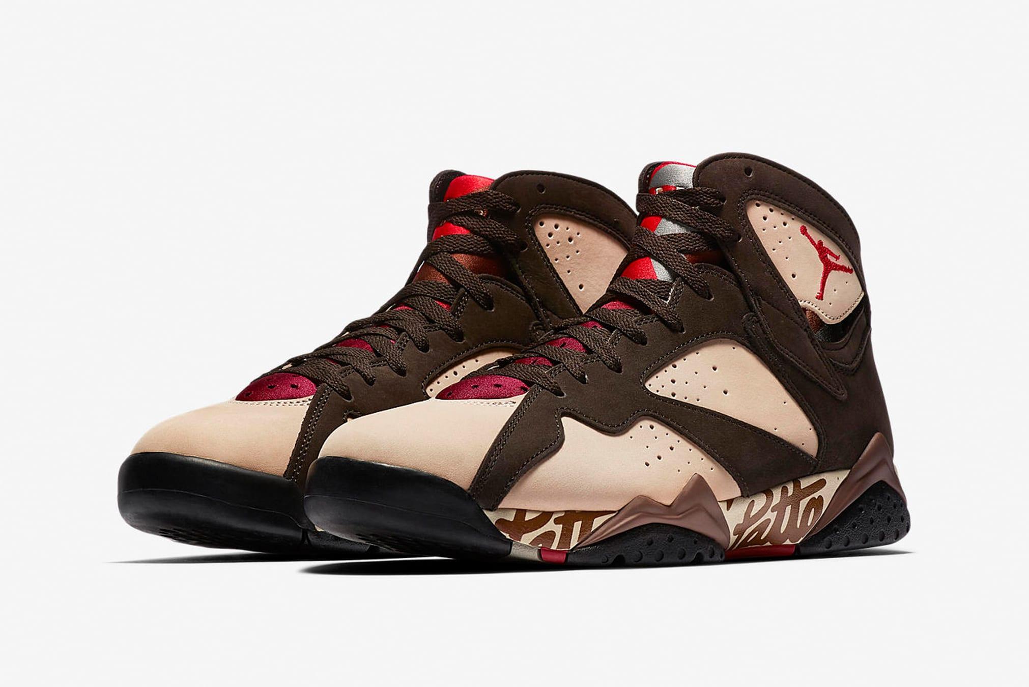 Nike Air Jordan x Patta 7 Retro - AT3375-200