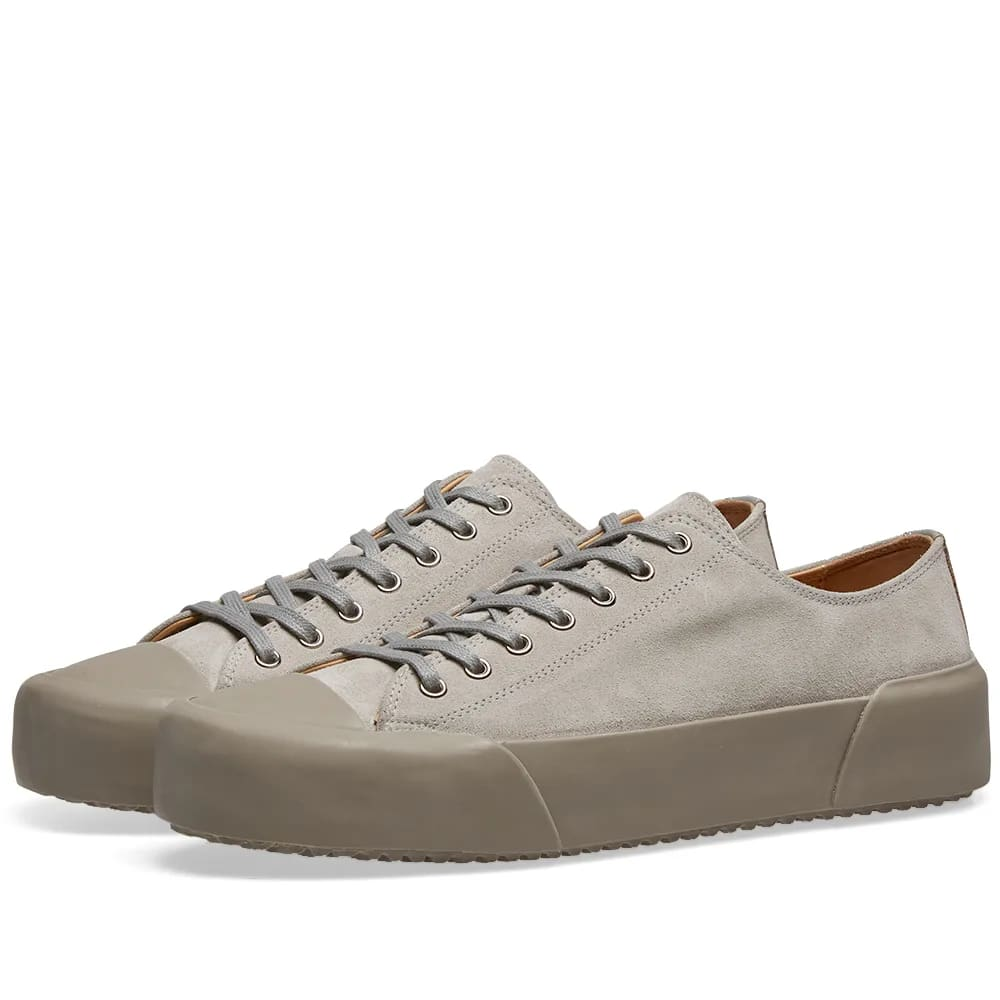 Jil Sander+ Suede Lace Up Sneaker