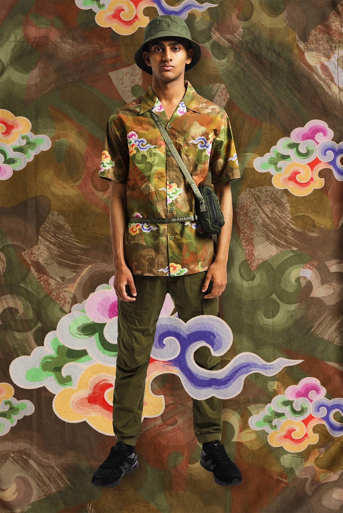 MAHARISHI Cloud Camo Vacation Shirt