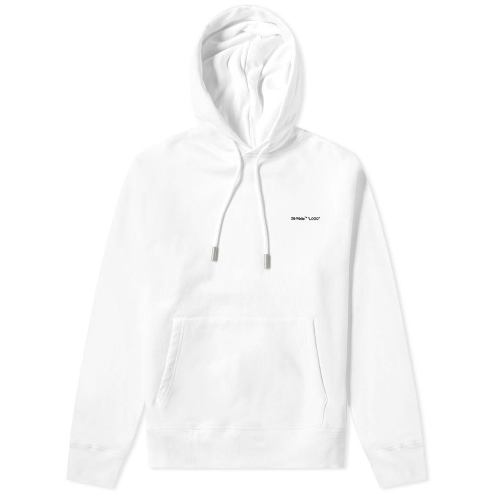 Off-White Logo Slim Hoody
