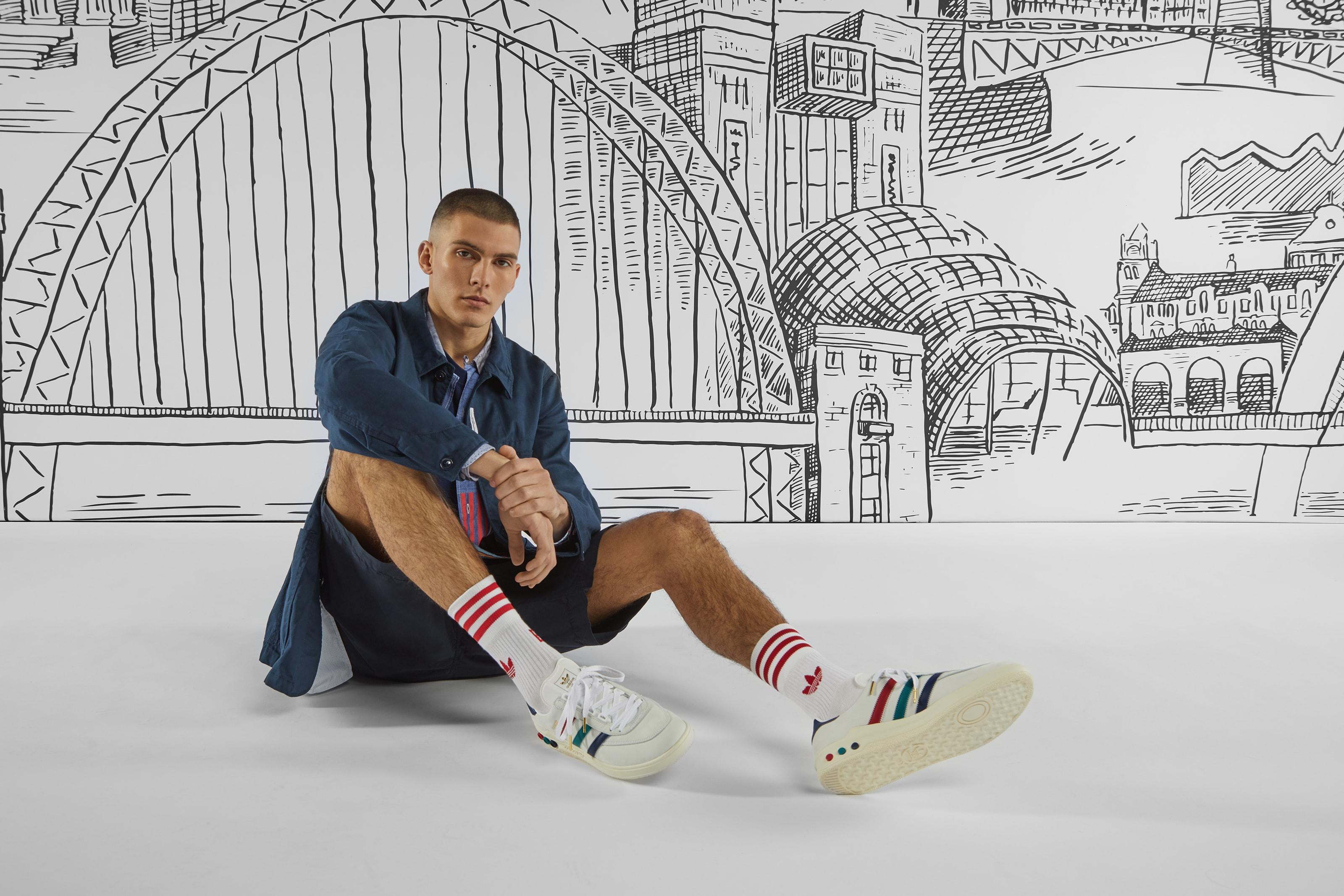 "END. x adidas ""Three Bridges"" editorial"