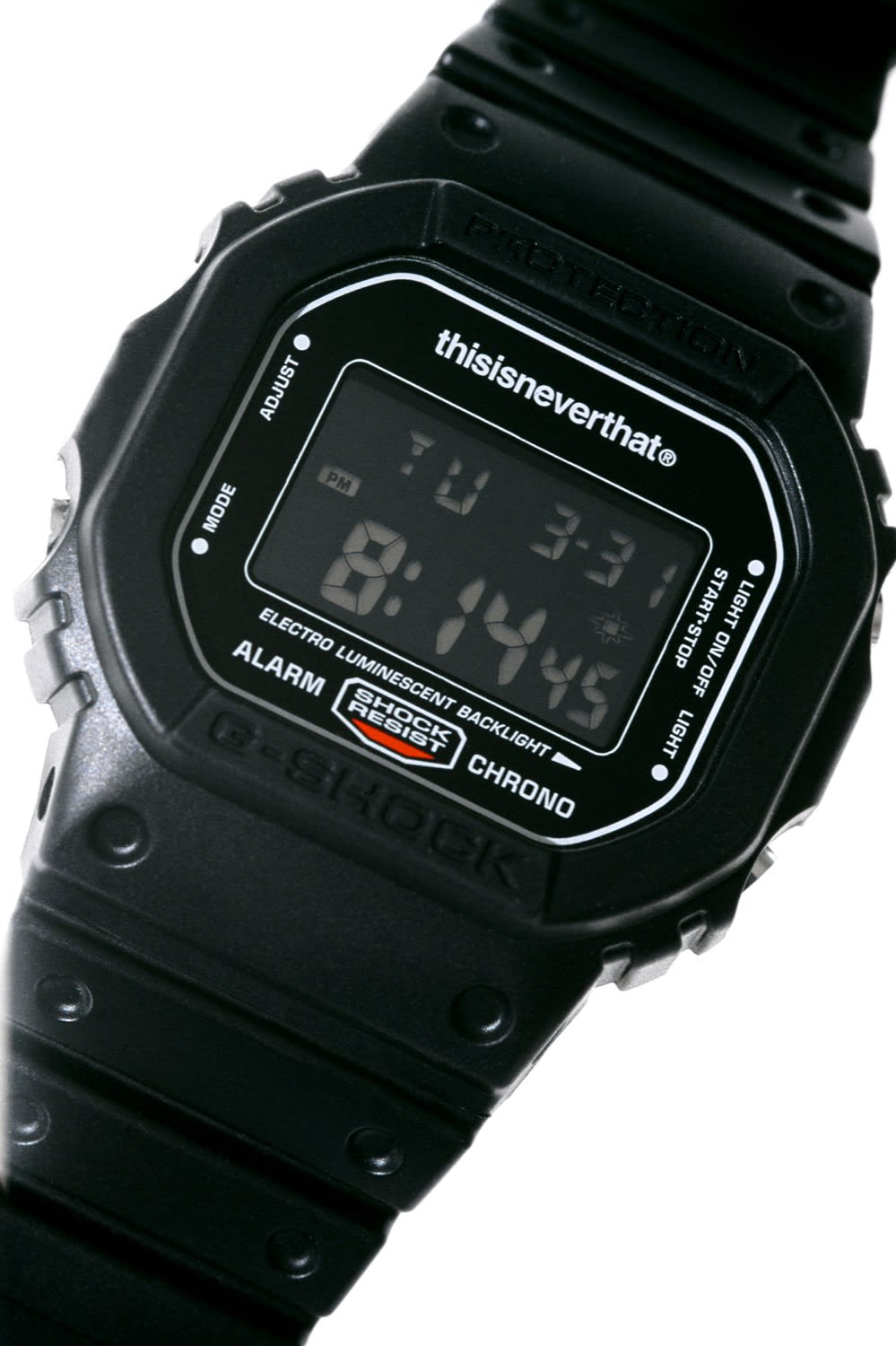 thisisneverthat x G-Shock 5600 Watch & Logo Tee - DW5600TNT-1DR