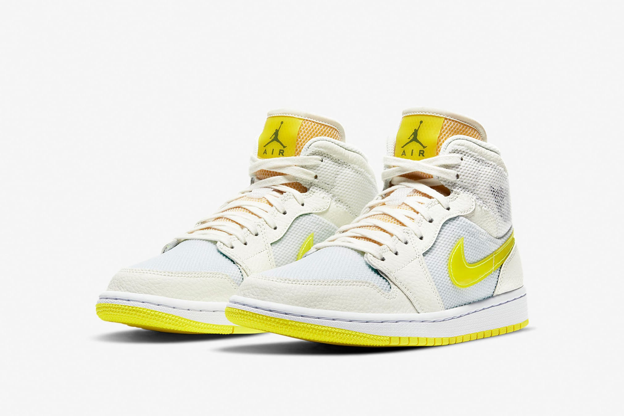 "Air Jordan 1 Mid SE W ""Voltage Yellow"" - DB2822-107"