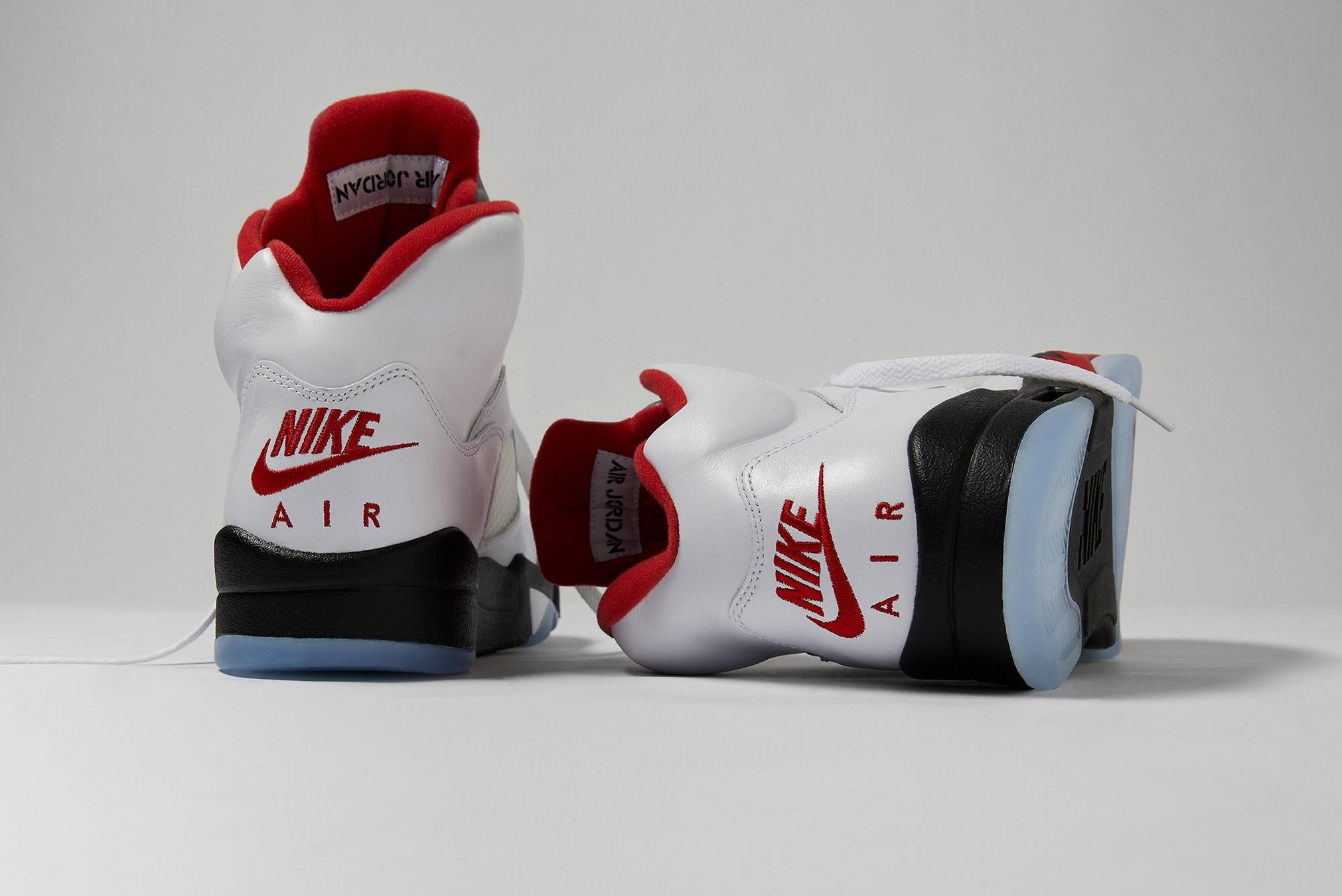 "Air Jordan 5 Retro ""Fire Red"" - DA1911-102"