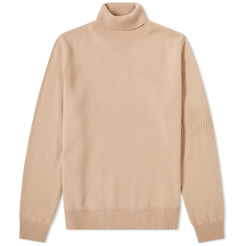 Maison Margiela 14 Sleeve Detail Roll Neck Knit