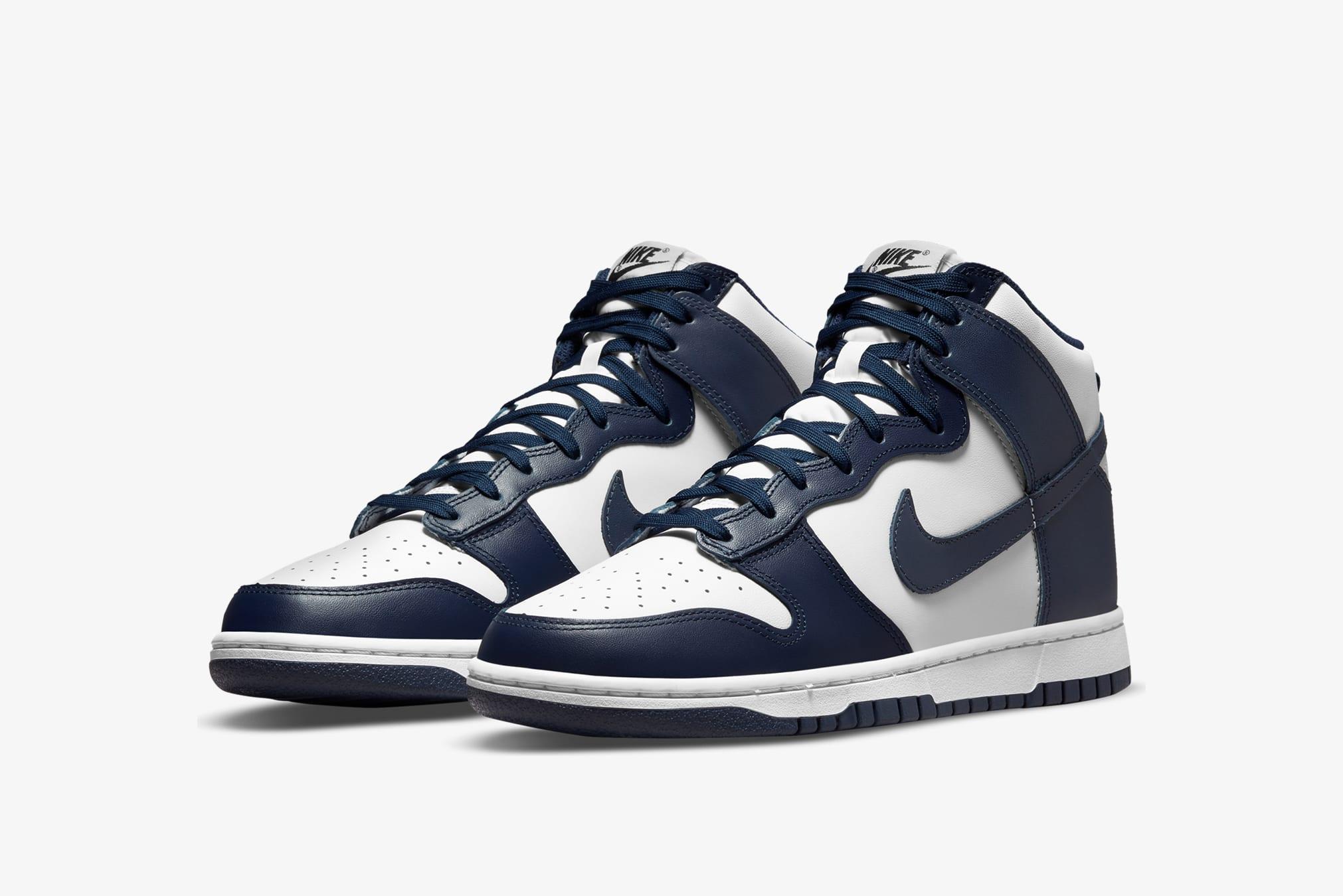 "Nike Dunk Hi Retro ""Midnight Navy"" - DD1399-104"