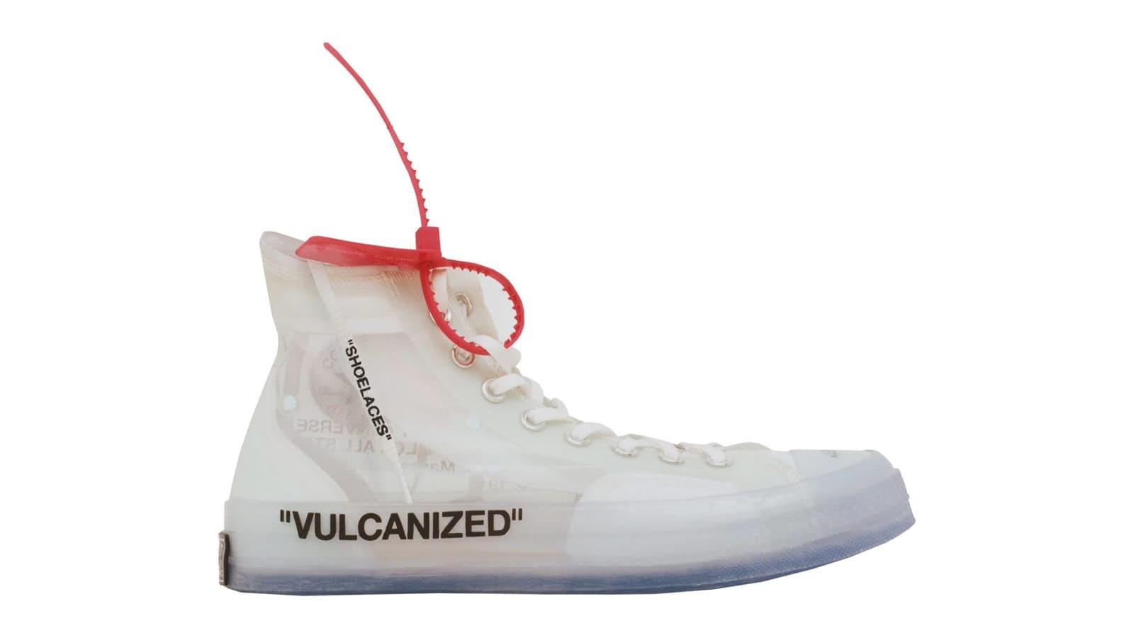 Virgil Abloh x Converse | Chaussure et Fringues