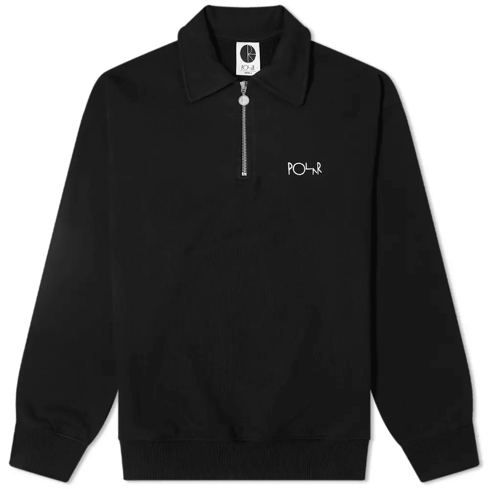 Polar Skate Co. Collar Zip Sweat