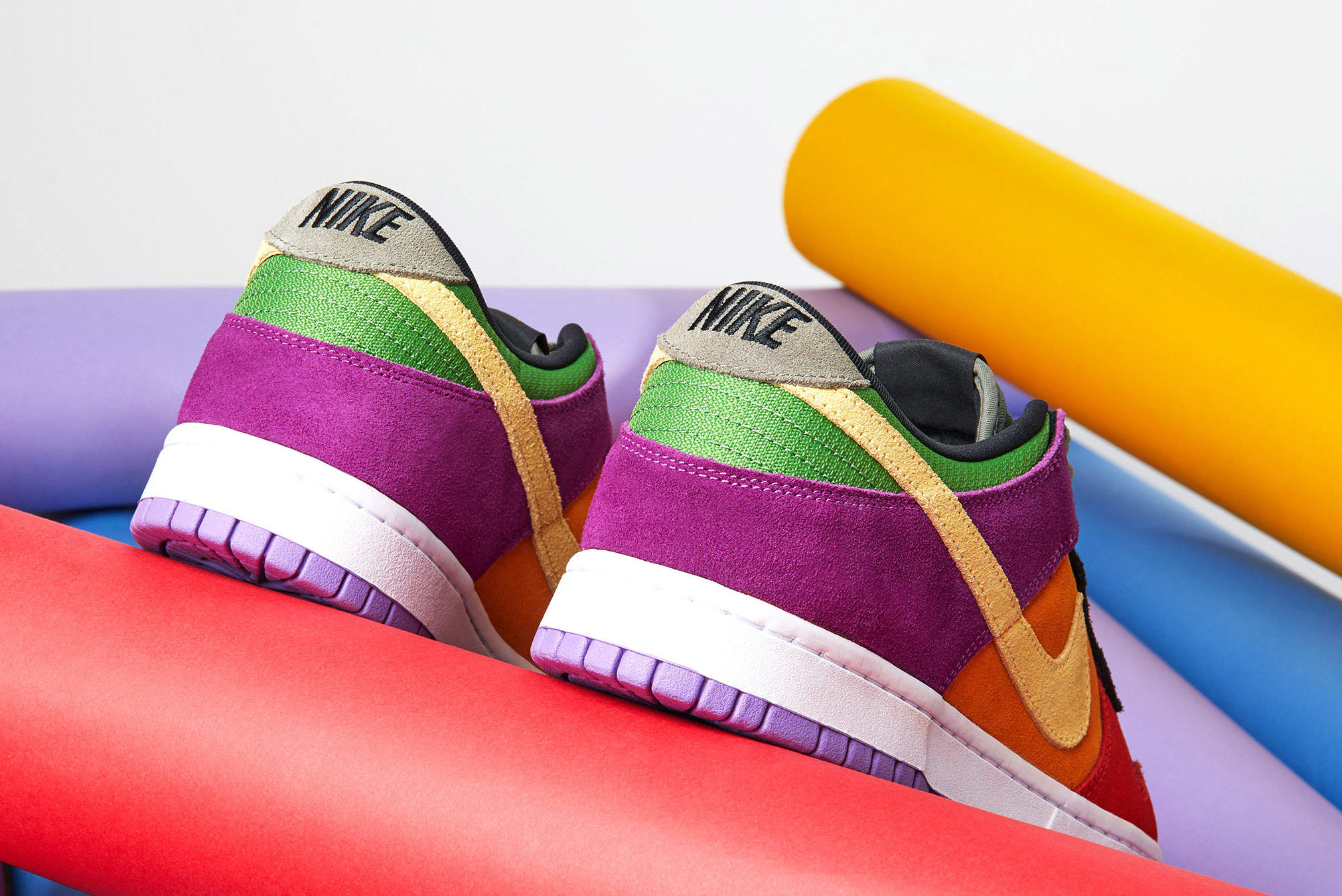 END. Features | Nike Dunk Low 'Viotech' Register Now on