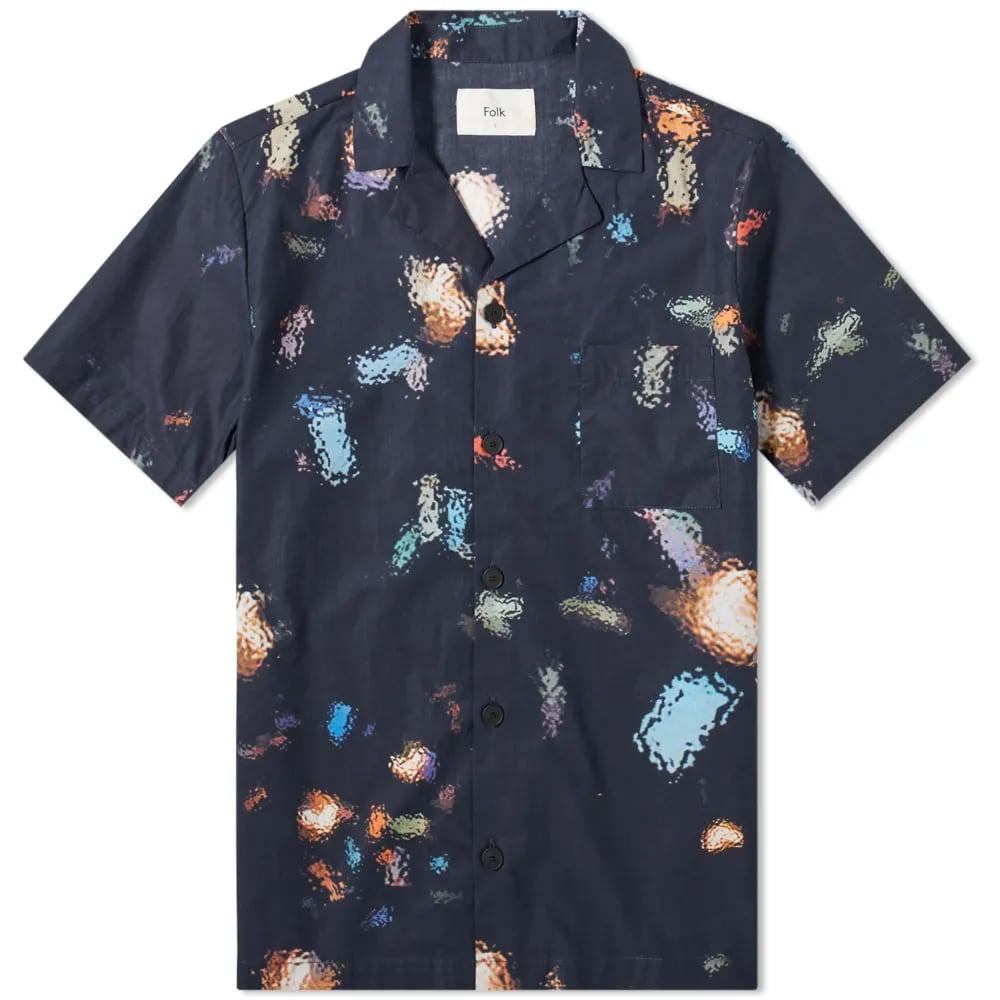 END. x Folk Short Sleeve Soft Collar Shirt