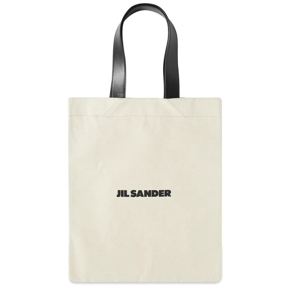 Jil Sander Logo Shopper Tote Bag