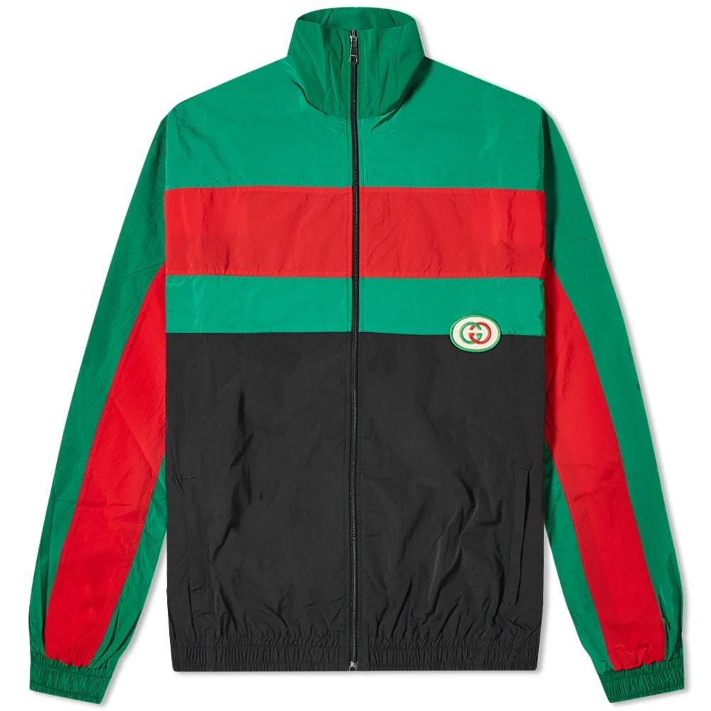 Gucci Oversized GRG Nylon Track Jacket