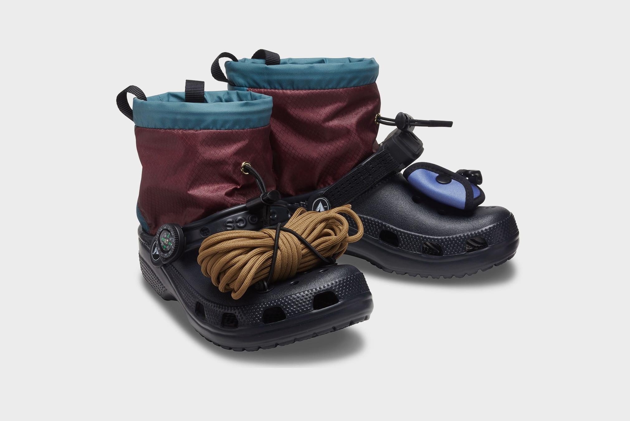Crocs x Nicole Mclaughlin Campsite Classic Clog - 206905-BLK