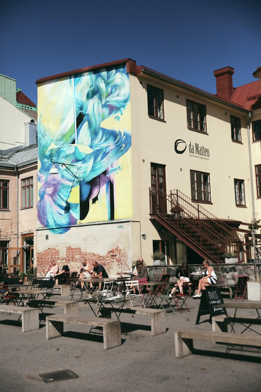 da Matteo courtyard - Axel Arigato City Guide Gothenburg