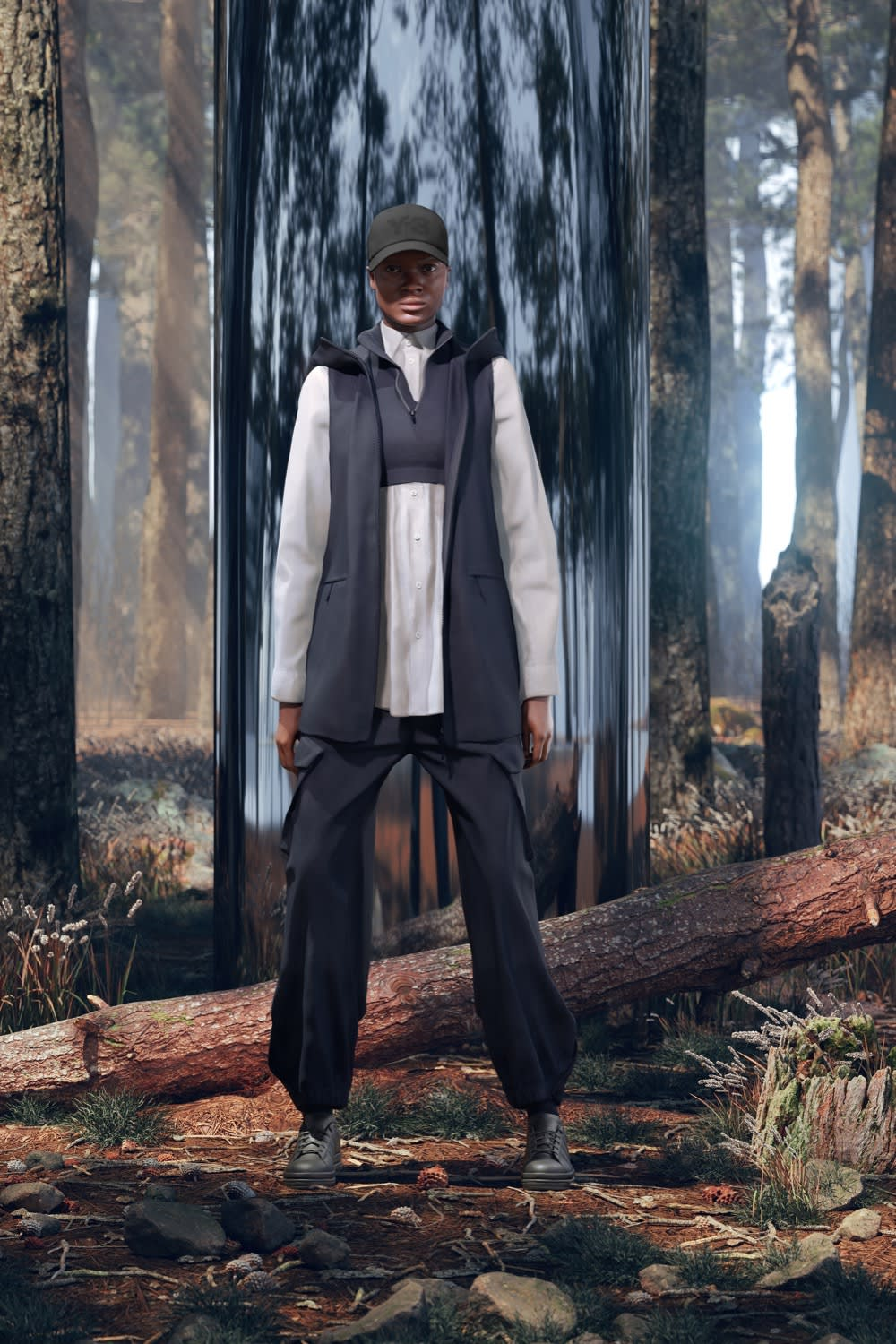Y-3 Head Into Nature For AW21 Chapter 1