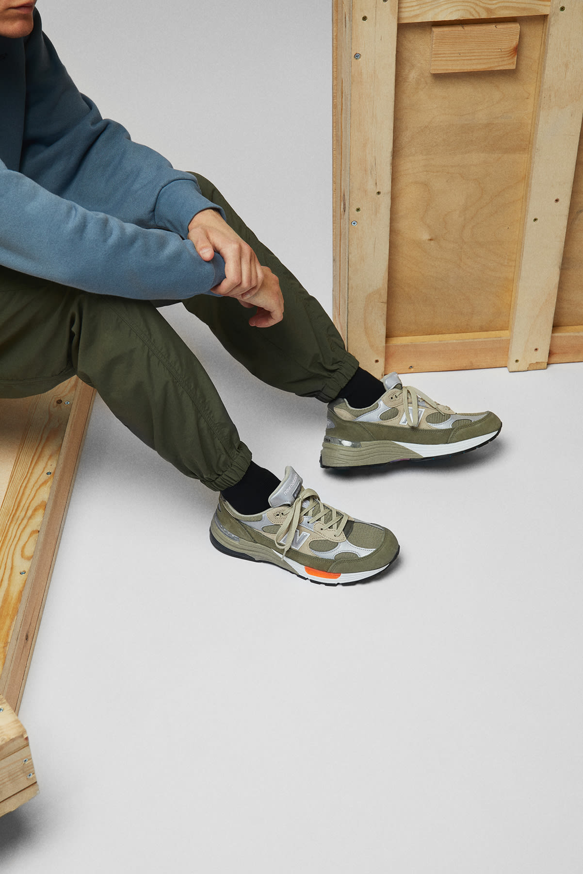 New Balance x WTAPS M992WT Made in USA - M992WT