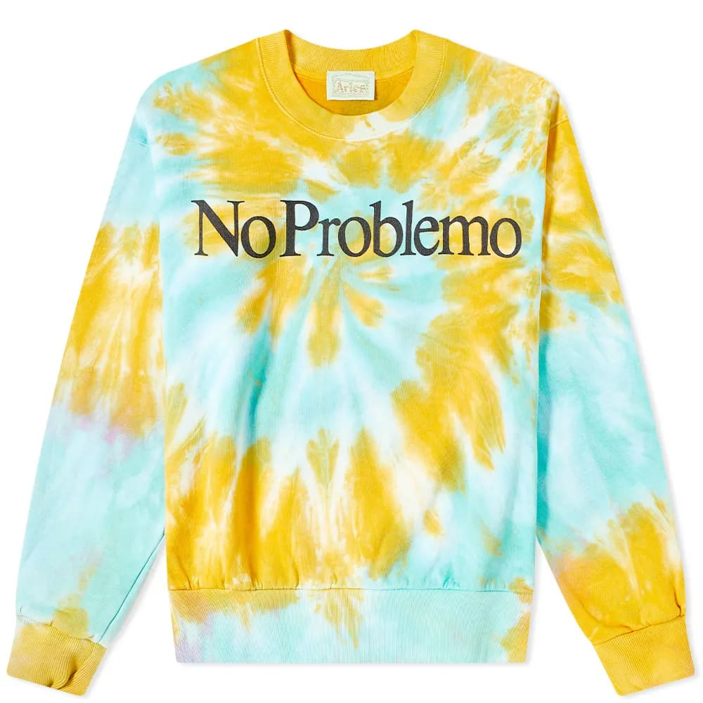 Curated 002 | Independent - Aries No Problemo Tie Dye Sweatshirt