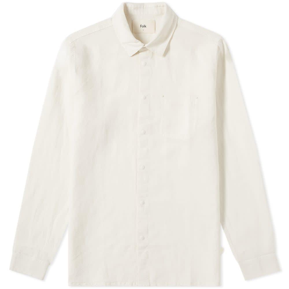 Folk Stitch Pocket Shirt