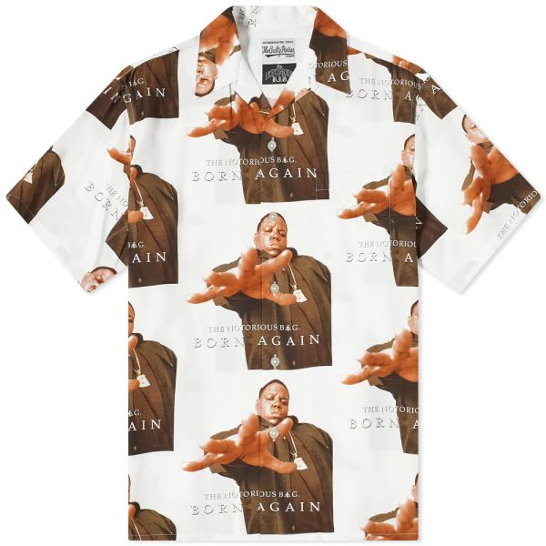 WACKO MARIA The Notorious B.I.G Hawaiian Shirt