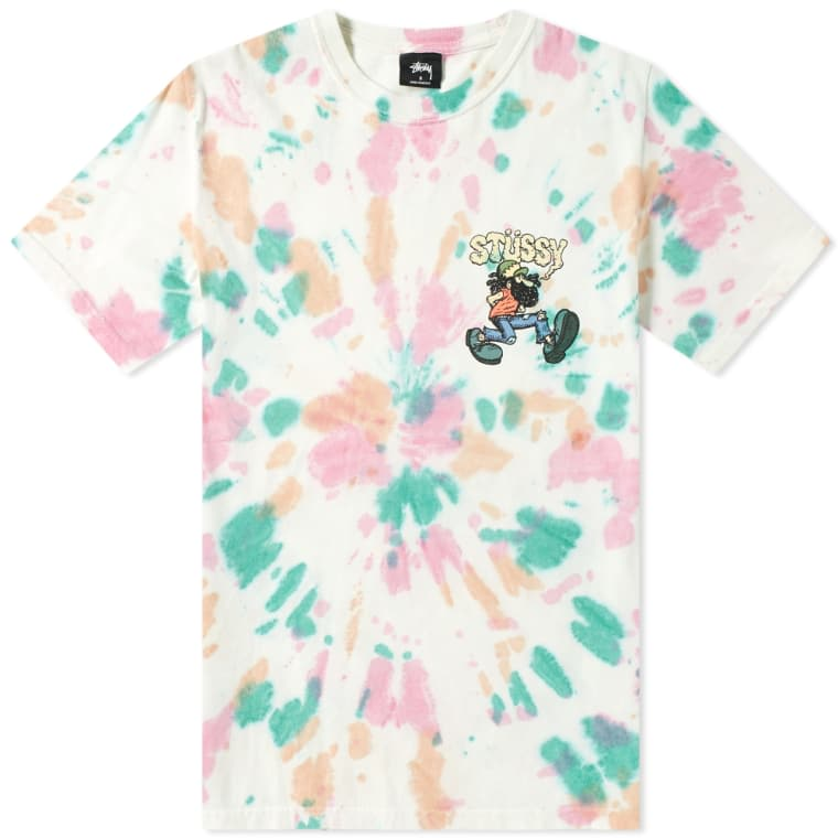 Stussy Mr Natty Tie Dye Tee