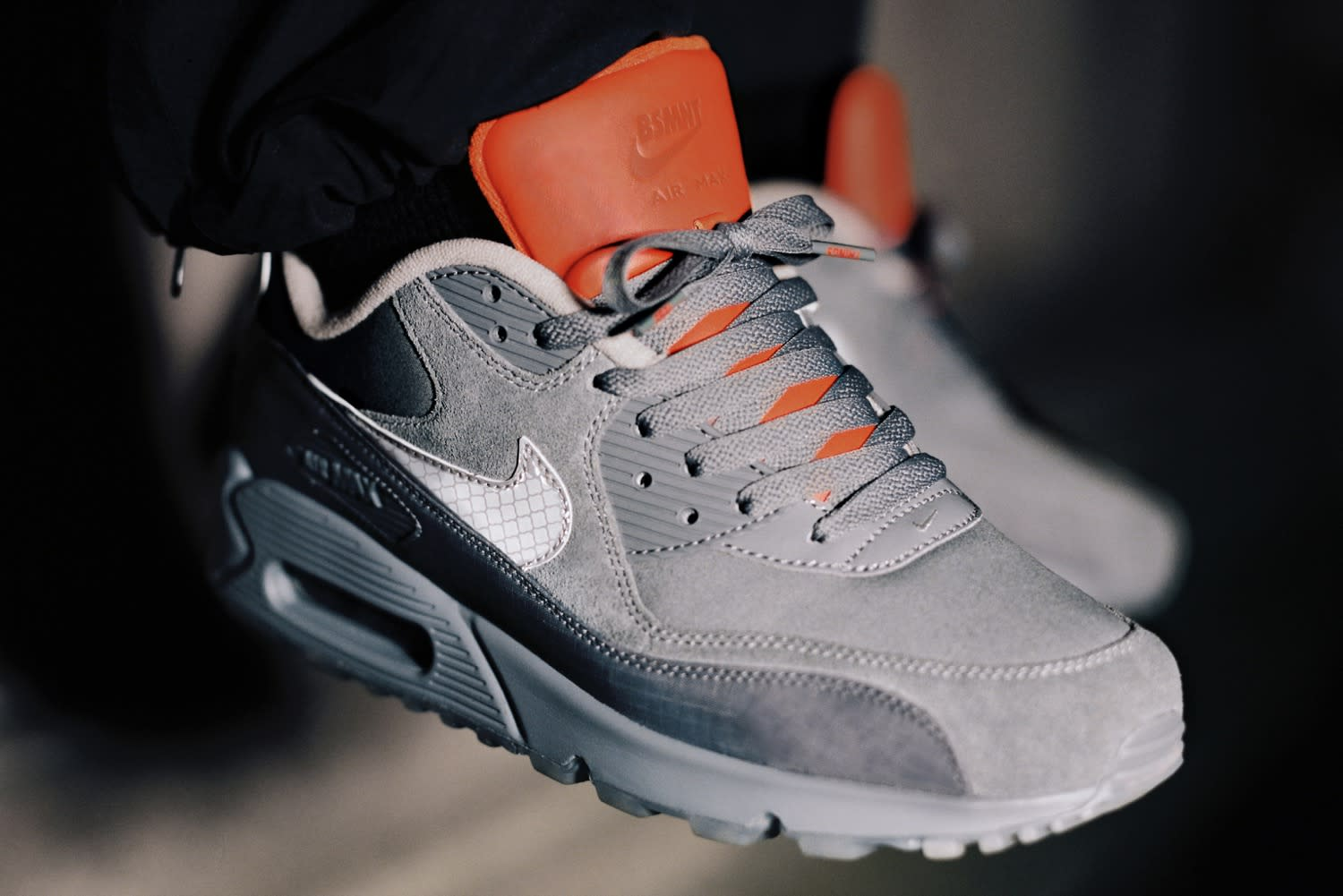 END. Features | Nike x BSMNT Glasgow Air Max 90 Register