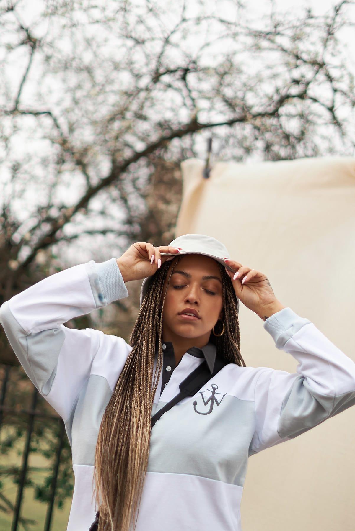 Mahalia wears JW Anderson