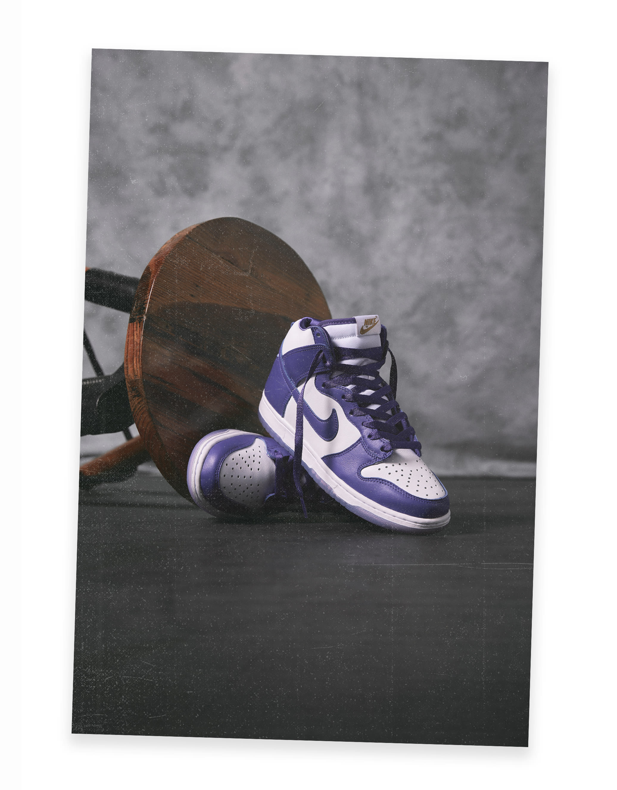 Class of 2020 Year of the Dunk - Nike Dunk High SP Varsity Purple