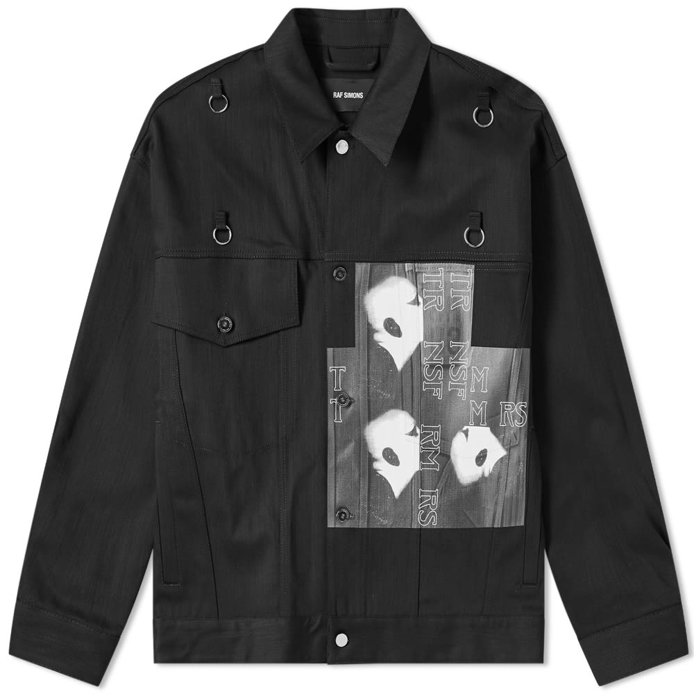 Raf Simons Bold Head Denim Jacket