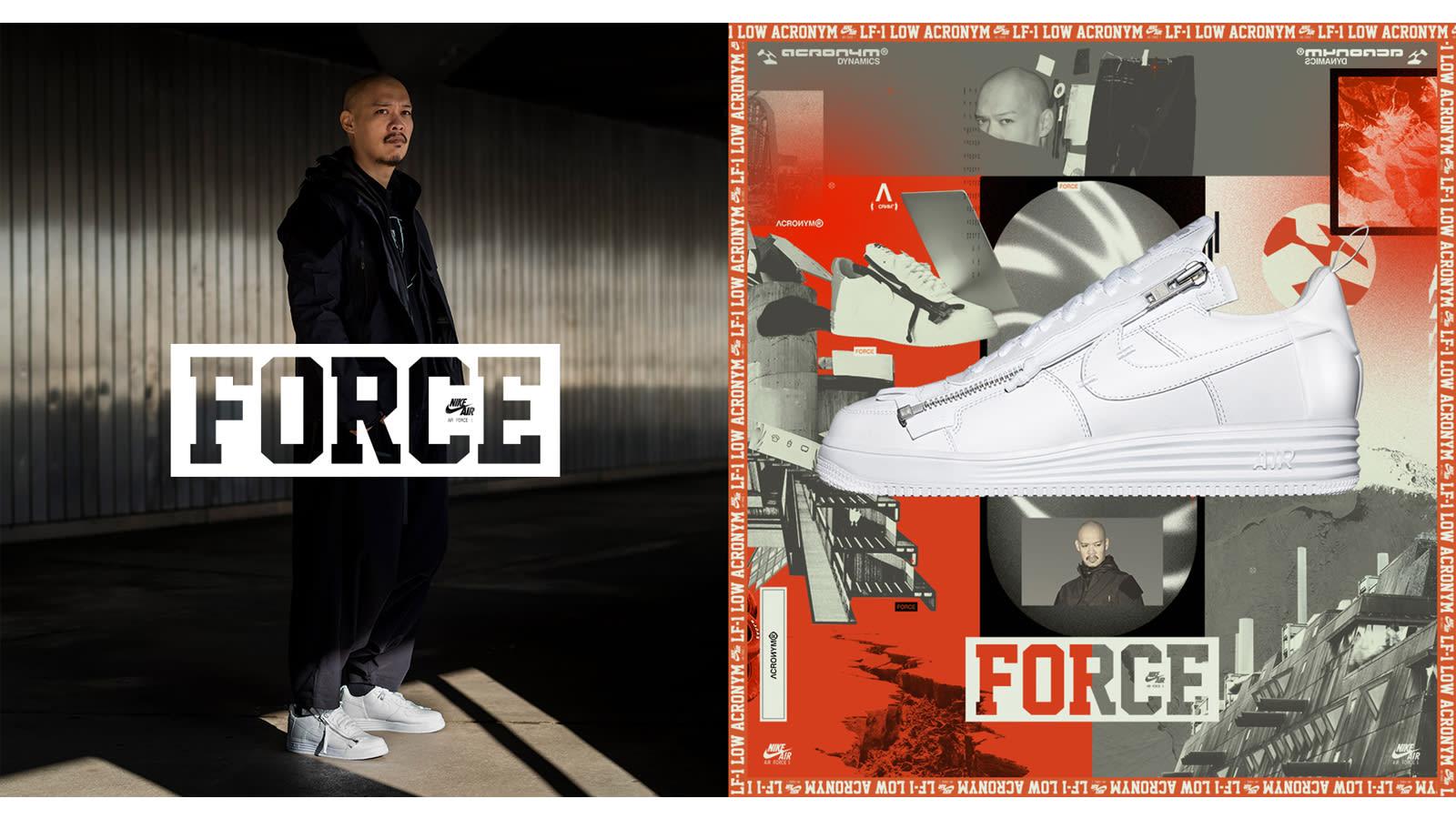 Nike Lunar Force 1 Low Acronym (AF100)