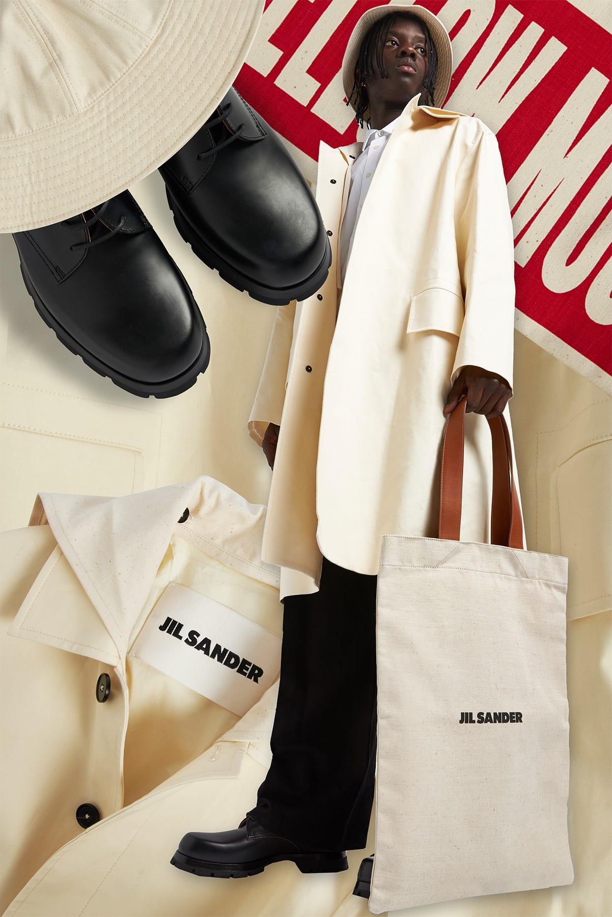 Curated 009 | Tote Bags - Model Wears Jil Sander Flat Tote