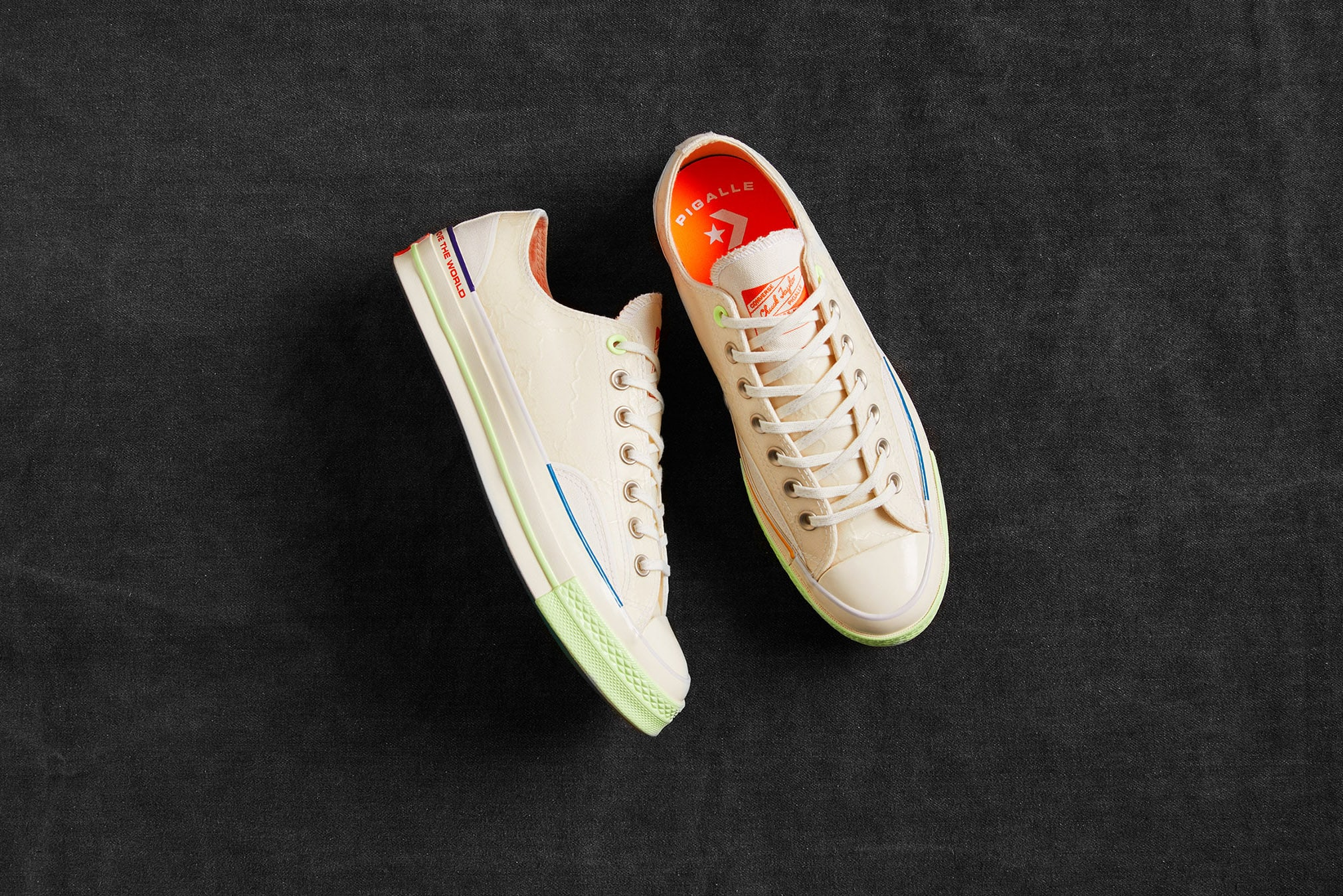 END. Features | Converse x Pigalle Register Now on END