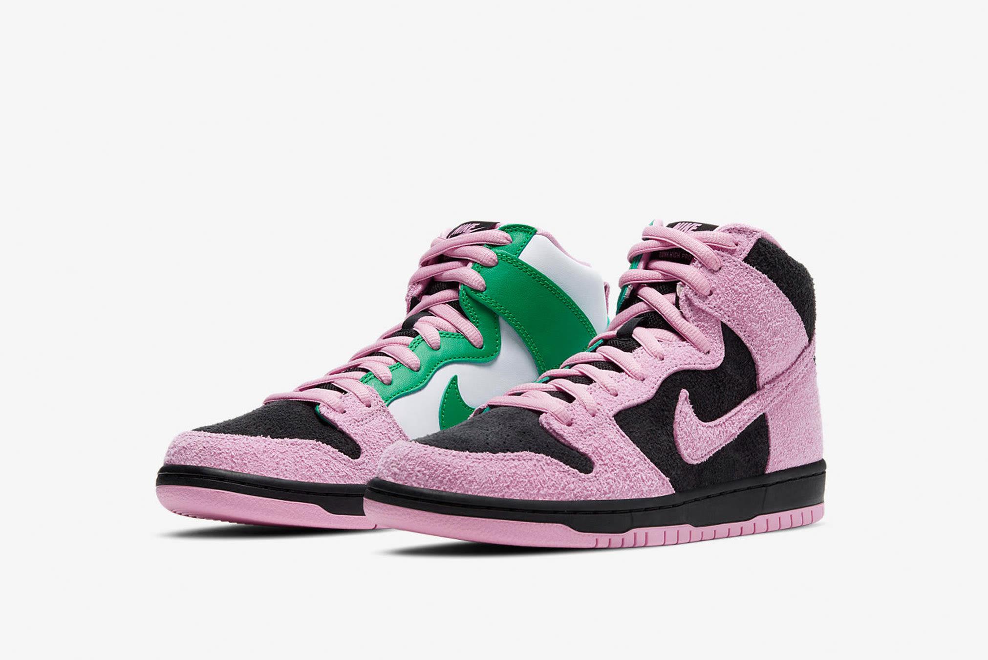 "Nike SB Dunk High Pro PRM ""Invert"" - CU7349-001"