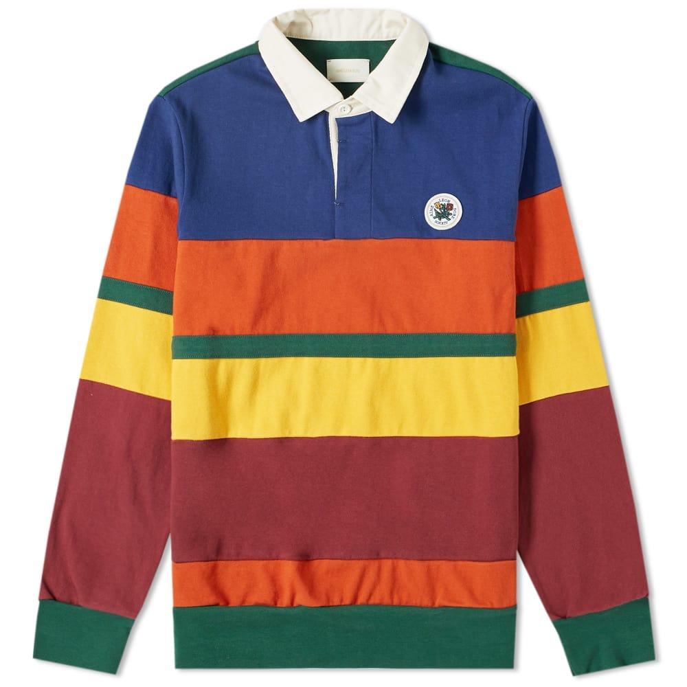 Aimé Leon Dore Colour Block Rugby Shirt