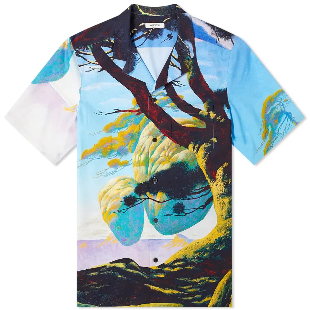 Curated 001 | Escapism - Valentino x Roger Dean Floating Island Vacation Shirt