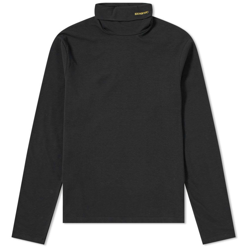 Calvin Kelin 205W39NYC Long Sleeve Logo Roll Neck Tee