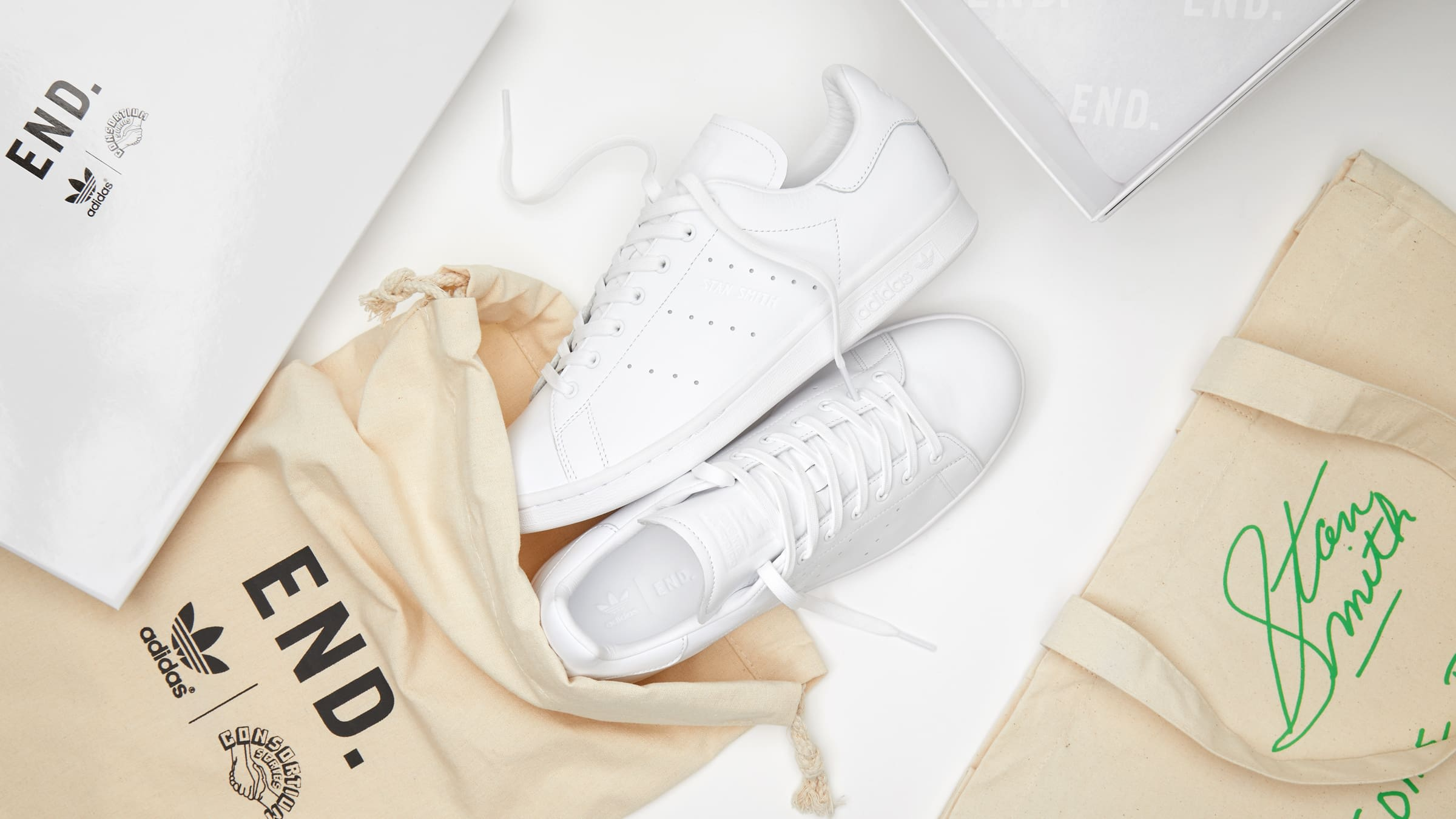 END. Features | END. x adidas Consortium Stan Smith