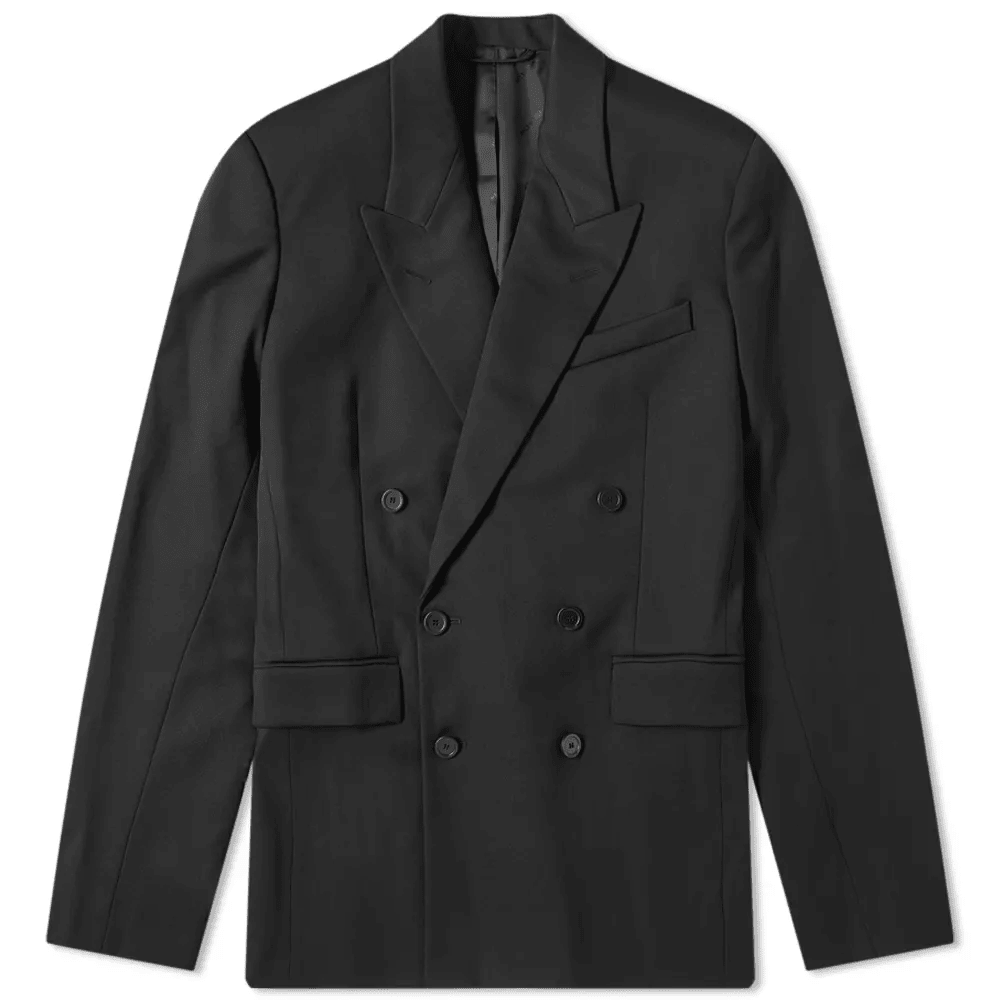 Balenciaga Double Breasted Suit Jacket