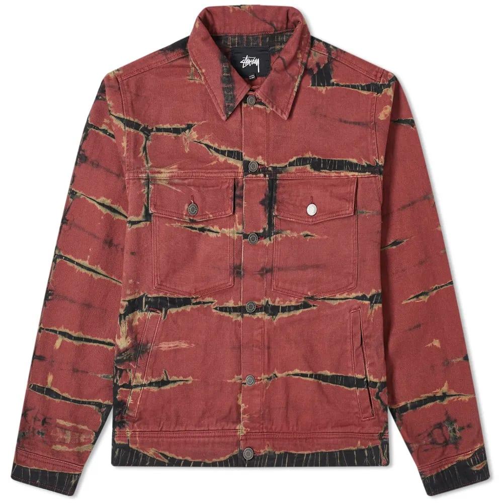 Stüssy Rip Dye Ranch Jacket
