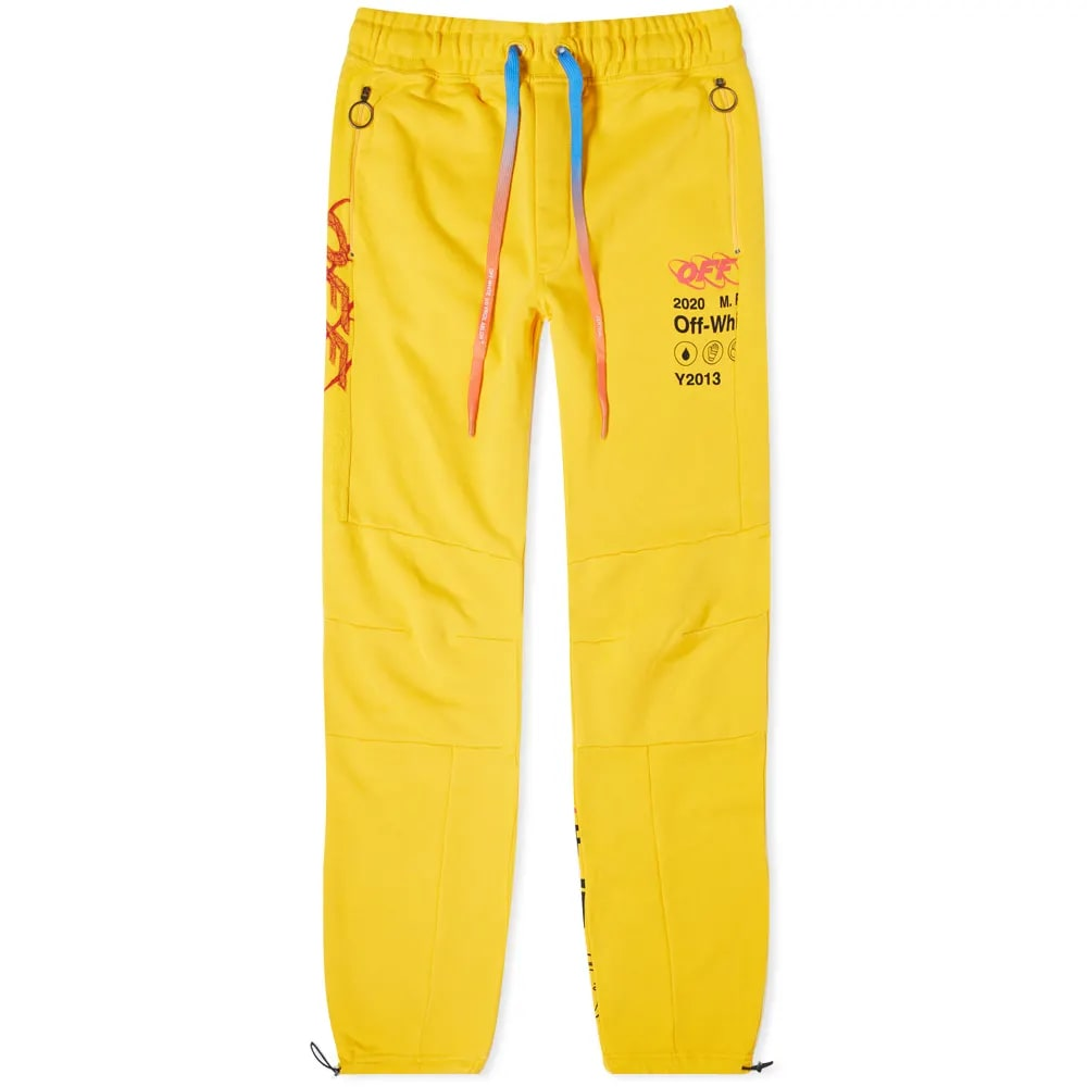 Off-White Industr Y013 Panelled Sweat Pant