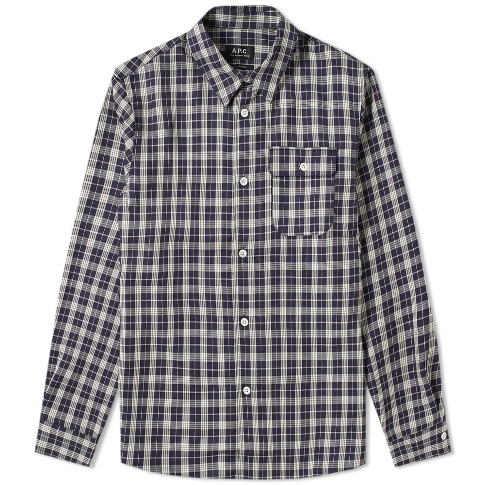 A.P.C. Sterling Check Overshirt