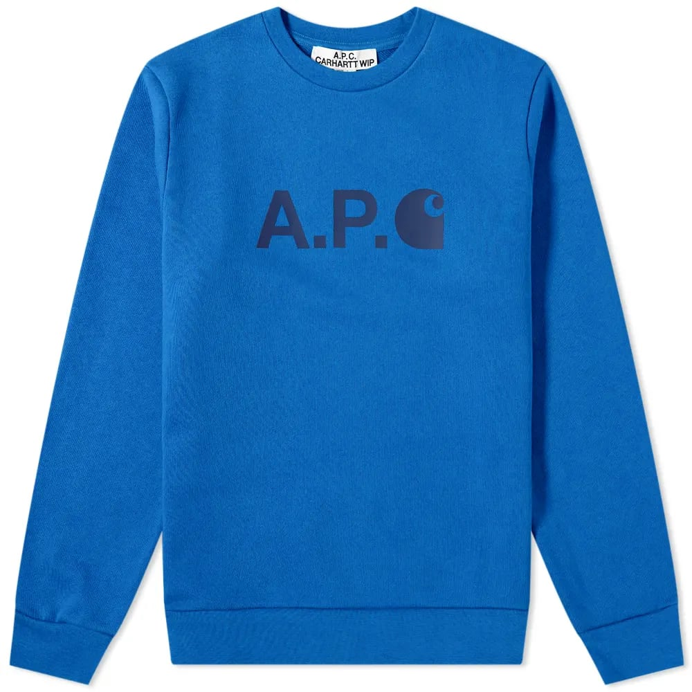 A.P.C. x Carhartt WIP Ice Logo Sweat